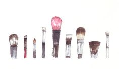 #paintbrushes #watercolor #artsy