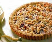 Crostata di Mandorla e Lampone - Almond and Raspberry Tart