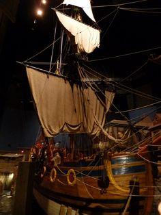 Replica of the ship Nonsuch