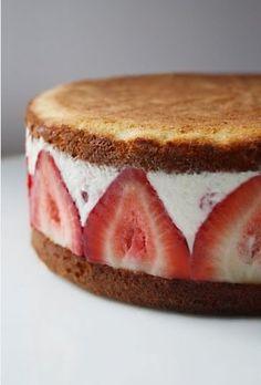 Ice cream cake #NationalIceCreamMonth