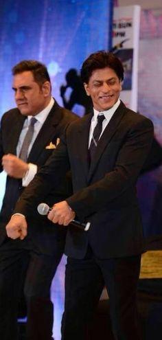 Shah Rukh Khan and Boman Irani - Zee TV dance show Dil Se Naachein