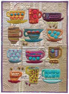 """I absolutely love folk art, as it is funky and a little unpredictable."" –Sue Spargo See more from Stitches to Savor by Sue Spargo."
