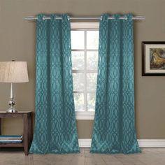 Mercury Row Pixley Blackout Curtain Panels Color: Rain