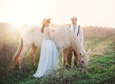 I love these gorgeous photos captured by Kay English Photography to share a story where a lovely girl falls asleep and wakes up in her dream. And love that her dream involves a handsome groom, gorgeous pale blue dress, horse, floral crown + more! Big thanks to Bella Bridal Consultants and Reverie Events for the design + styling. Perfect dreamy […]