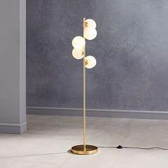 5 Light Floor Lamp, Glass Floor Lamp, Led Floor Lamp, Cool Floor Lamps, Floor Mirror, Decorative Floor Lamps, Torchiere Lamp, Best Flooring, Wood Flooring