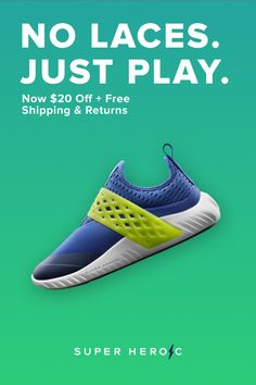Order the exclusive TMBLR V1 - $20 off + free shipping & hassle free returns, while supplies last. Footwear that works in sync with their movements. No laces, no sock liner, just a perfect fit. PLAY IS GOOD FOR THE SOUL.