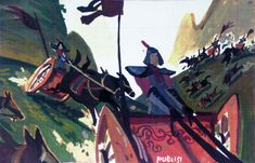 Mulan concept art, © disney enterprises, inc