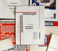 modernist book design in germany and switzerland 1925–1965