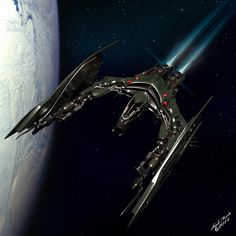 Vanduul Glaive by ShjakMonde on deviantART