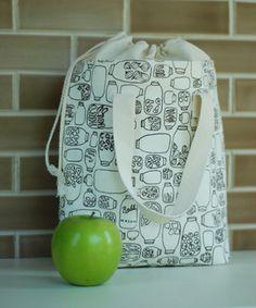 lunch sack bag free pattern