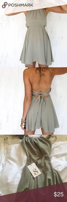 Light green mini wrap dress brand new adorable light green sabo skirt wrap dress Sabo Skirt Dresses Mini