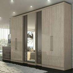 Check out our website for some more bedroom inspiration! Wardrobe Room, Wardrobe Design Bedroom, Bedroom Furniture Design, Bedroom Cupboard Designs, Bedroom Cupboards, Wardrobe Door Designs, Closet Designs, Almirah Designs, Hotel Room Design
