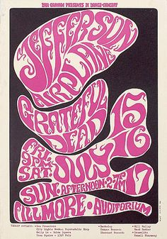 1966-07-15/16/17, Fillmore Auditorium, San Francisco (Wes Wilson).