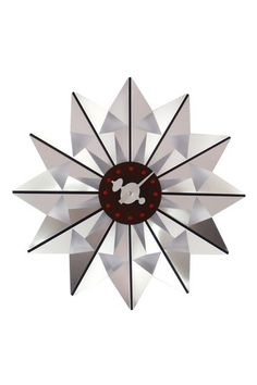 George Nelson Butterfly Clock - Silver by Mid-Century Furniture Classics on @HauteLook