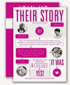 Our Love Story - Apple - Invitation Apple Invitation, Invitation Cards, Invite, Invitation Ideas, Wedding Tips, Our Wedding, Wedding Stuff, Photo Wedding Invitations, Lesbian Wedding