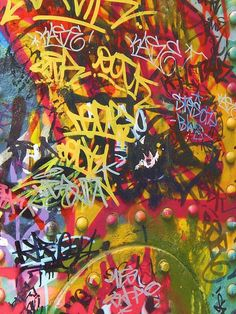 Abstract Graffiti by Leon Keay Graffiti Wall, Street Art Graffiti, Urban Street Art, Urban Art, Pop Art, Monkey Art, Graffiti Tagging, Graffiti Lettering, Collage