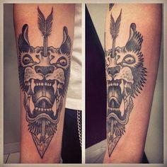http://tattooideas247.com/wp-content/uploads/2014/09/Gregorio-Marangoni-Tattoo.jpg Gregorio Marangoni Tattoo #Arrow, #Beast, #BlackTattoo, #TattooIdea