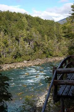 Chile, The Good Place, Scene, Camping, River, Vacation, Mountains, World, Nature
