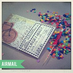 Inspiration on how to make mail special and fun! #papered_thoughts