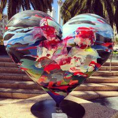 ~ San Francisco -left my heart in SF I Love Heart, Heart For Kids, My Heart, San Francisco, Heart In Nature, Today Images, Heart Images, Heart Wall, Love Symbols