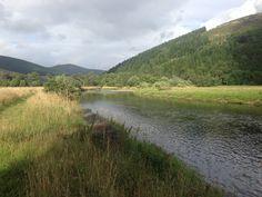 Leithen river...