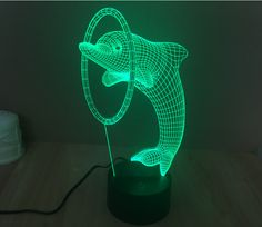 Inventive Animal Dog 3d Night Table Lamps For Living Room 7 Color Touch 3d Led Table Lamp Gift Customization Atmosphere Lights & Lighting Led Lamps