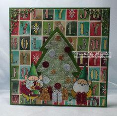 craftliners: Kerst met kabouters...