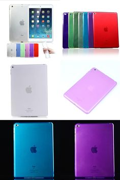 [Visit to Buy] Simple and elegant  Transparent TPU Back Case Cover Silicone For Apple iPad Air 2 For Apple iPad6  9.7'' Protective Shell Skin #Advertisement