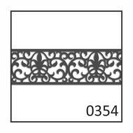 "6"" Fret Pattern 0354"