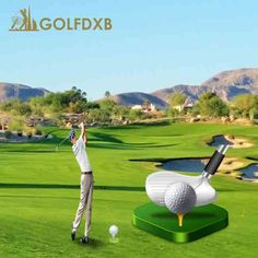 Golf lessons in Dubai from first class PGA Professional & Challenge.