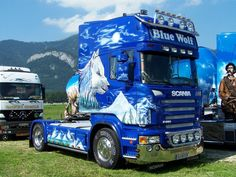 Scania, Blue Wolf