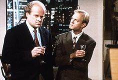 41 Pop Culture Halloween Costumes For Brothers Frasier and Niles Crane From Frasier