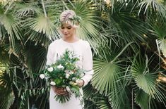 Mid-Century Modern Wedding Inspiration | Green Wedding Shoes Wedding Blog | Wedding Trends for Stylish + Creative Brides