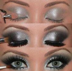 Smoky eyes by cledia bertoli Photo Makeup, Love Makeup, Makeup Tips, Makeup Looks, Hair Makeup, Makeup Tutorials, Makeup Ideas, Amazing Makeup, Makeup Geek