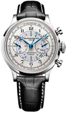 Baume et Mercier Watch Capeland #bezel-fixed #bracelet-strap-alligator #brand-baume-et-mercier #case-depth-16-5mm #case-material-steel #case-width-44mm #chronograph-yes #date-yes #delivery-timescale-call-us #description-done #dial-colour-silver #flyback-yes #gender-mens #luxury #movement-automatic #official-stockist-for-baume-et-mercier-watches #packaging-baume-et-mercier-watch-packaging #style-sports #subcat-capeland #supplier-model-no-m0a10006…