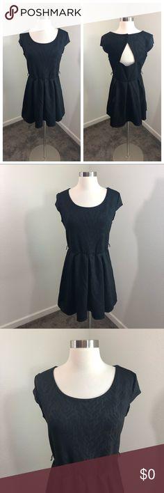 489ee9b281f Iz Byer black chevron cut out dress Iz Byer brand Black chevron dress Size  L Top