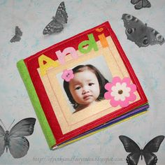 Of Pinks and Fairy Tales: Andrea's Baby Board Book