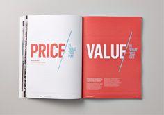 Editorial design / Best Awards - Saatchi & Saatchi Design Worldwide. / KPMG Fuelling Prosperity