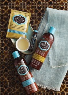 HASK zestaw do pielęgnacji włosów z olejem arganowym
