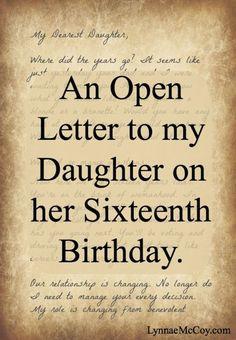 Trendy birthday wishes daughter sweet 16 Birthday Quotes For Daughter, Daughter Quotes, Gift Ideas For Daughter, Son Quotes, Daily Quotes, Funny Quotes, Sweet 16 Birthday, Birthday Wishes, Birthday Nails