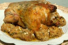 The Ultimate Roast Chicken Stuffing - Domestic Goddesses