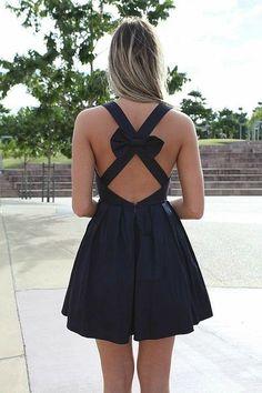 #black bow dresses