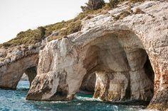 Blue caves, Kefalonia