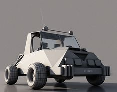"""Check out new work on my @Behance portfolio: """"Low poly vehicles"""" http://be.net/gallery/63714763/Low-poly-vehicles"""