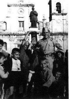 Piazza Castello anni 50