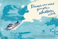 Norwegian Cruise Line's Freestyle Cruising Campaign