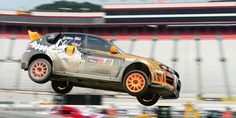 Subaru has confirmed their return to the Global RallyCross Championship (GRC) for the 2014 season. They improve both drivers and the 2014 Subaru WRX STI cars. 2014 Subaru Wrx Sti, Sti Car, Rally, Dream Cars, Guy, Bike, Architecture, Autos, Bicycle