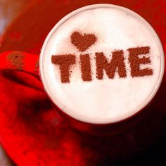 Time. Little Fashion Gallery. Stencil Cofee. http://loover.fr