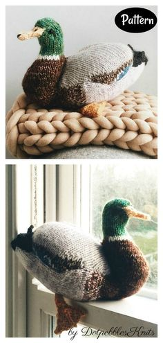Mallard Duck Knitting Pattern