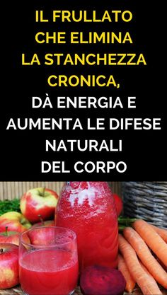 Il Frullato Che Elimina la Stanchezza Cronica, Dà Energia e Aumenta Le Difese Naturali Del Corpo